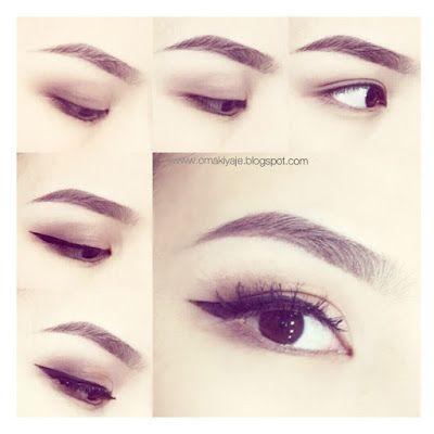 легкий макияж глаз для карих глаз