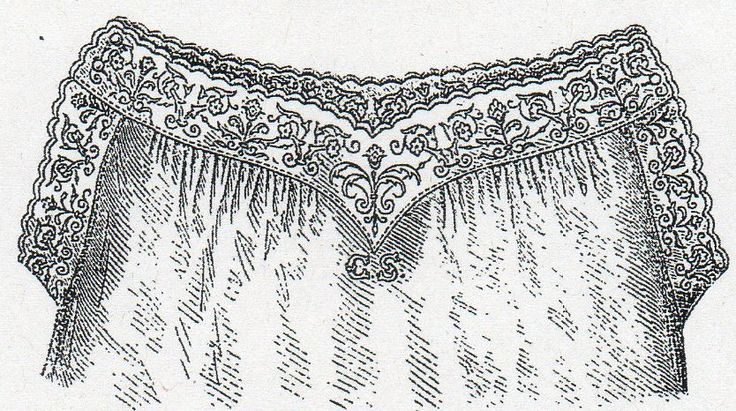 Chemise with embroidered yoke from Budapesti Bazár 1878