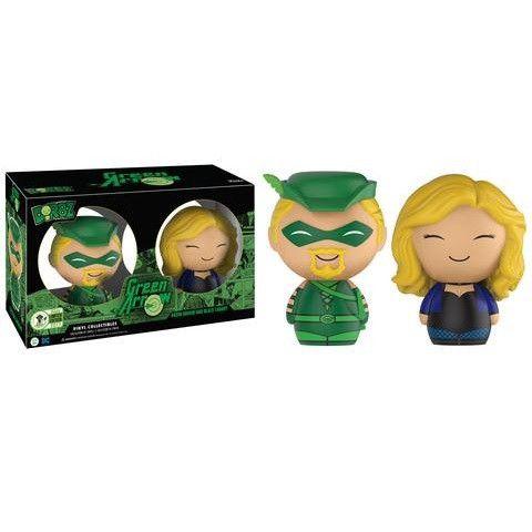 Dorbz: Classic Green Arrow & Black Canary 2-pack [ECCC Exclusive]