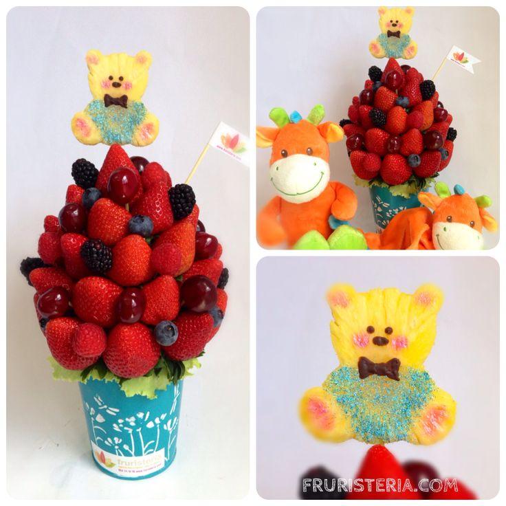 Frutas del Bosque para dar la bienvenida a un principito!!!