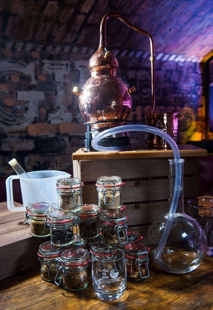 Gin Distillery | Edinburgh Gin | Tours