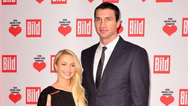 Wladimir Klitschko mit seiner Verlobten Hayden Panettiere
