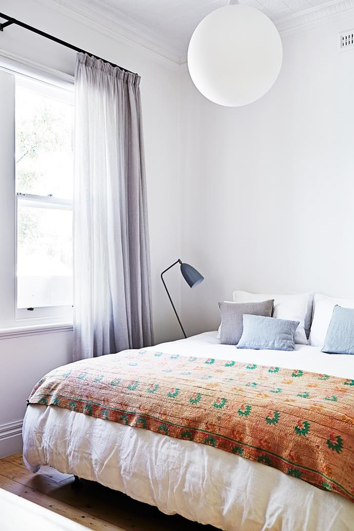 """The sheer-linen curtains from [Unique Fabrics](http://www.uniquefabrics.com/