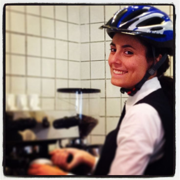 Bike breakfast in bike hotel