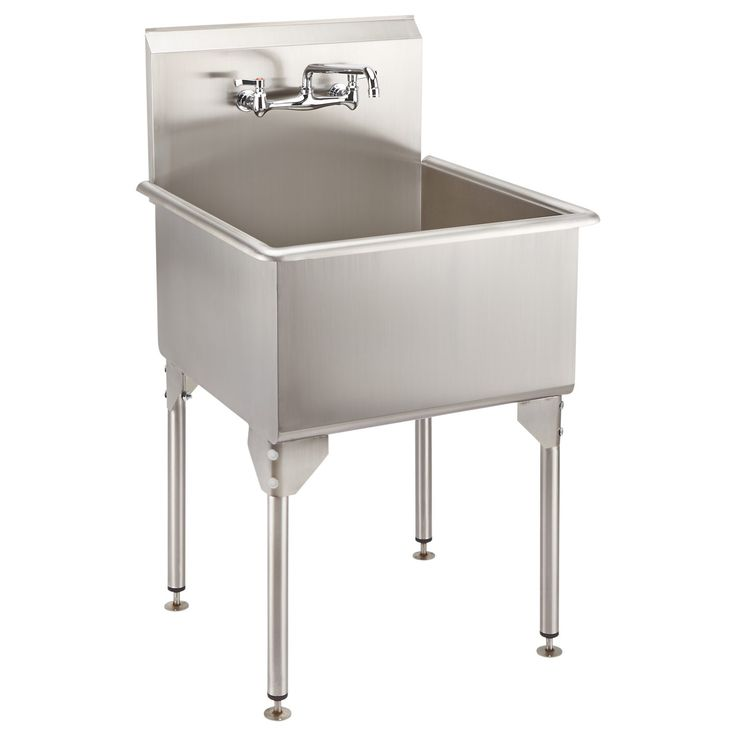 Stainless Steel Utility Sink With Legs : Stainless Steel Products on Pinterest Dome Camera, Stainless Steel ...