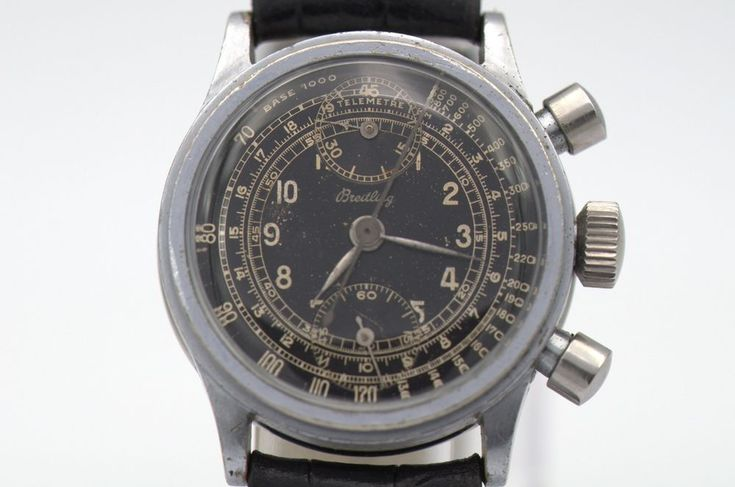 RARE VINTAGE BREITLING CHRONOGRAPH WATCH 36MM #Breitling #DressFormal