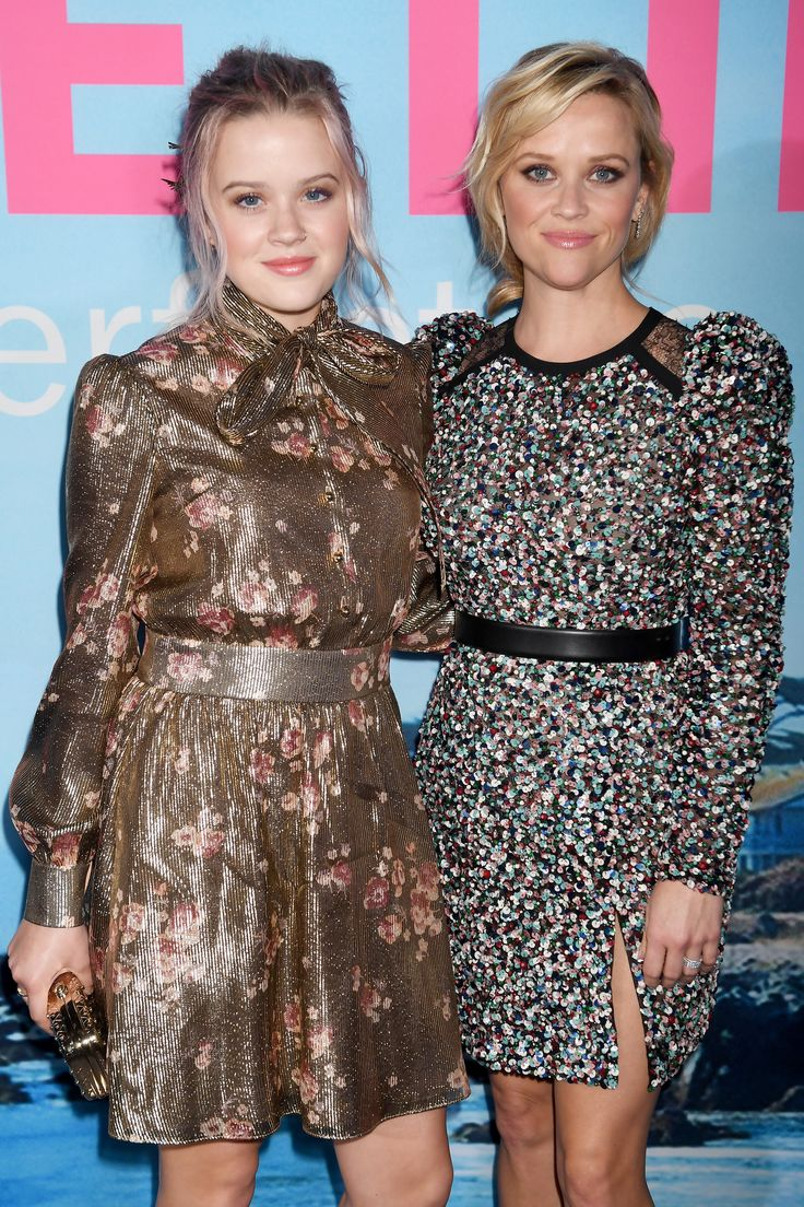 LOS ANGELES, CA - FEBRUARY 07:  Ava Elizabeth Phillippe (L) and actor Reese Witherspoon attend the premiere of HBO's 'Big Little Lies' at the TCL Chinese Theater on February 7, 2017 in Hollywood, California.  (Photo by Jeff Kravitz/FilmMagic) via @AOL_Lifestyle Read more: https://www.aol.com/article/entertainment/2017/09/28/reese-witherspoon-on-ryan-phillippe-marriage/23226666/?a_dgi=aolshare_pinterest#fullscreen