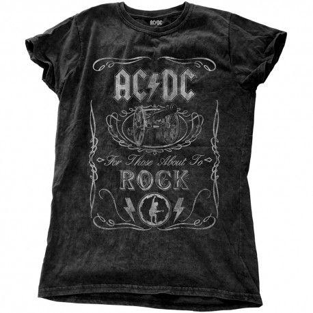 AC/DC: Cannon Swig Vintage (tricou dama)