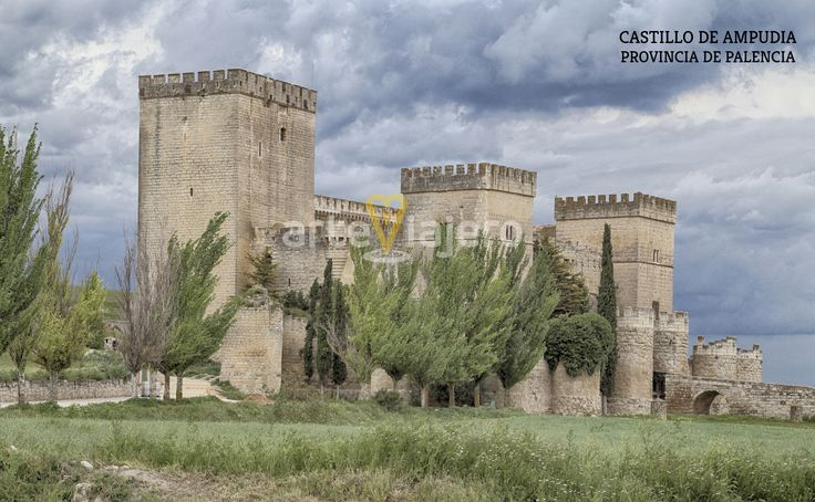 Castillo de Ampudia, provincia de Palencia