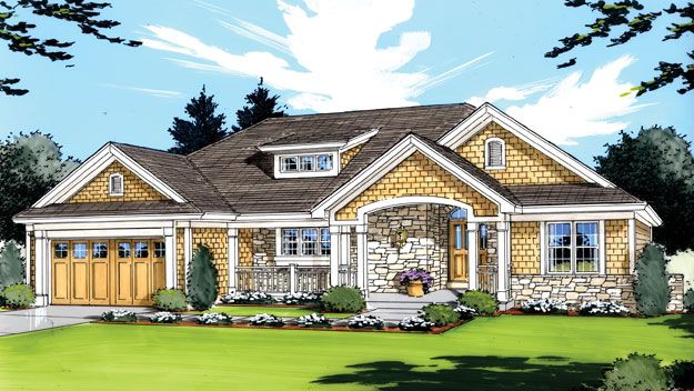 1000 images about craftsman home plans on pinterest - Bedroom house plans optimum choice ...