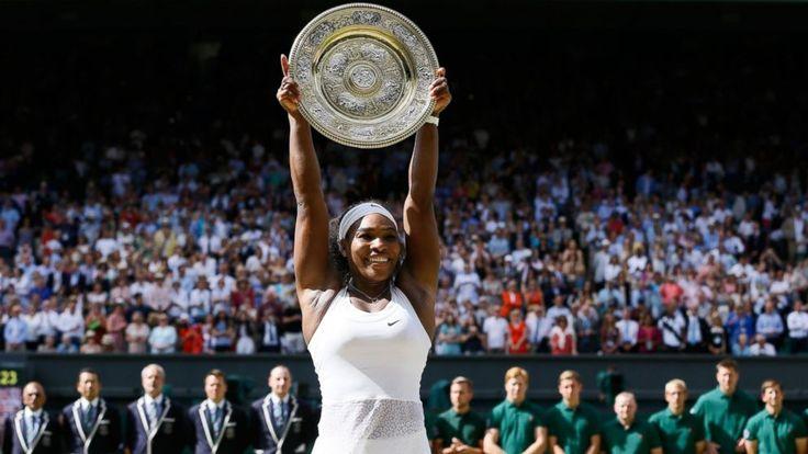 Serena Williams Wins Wimbledon,