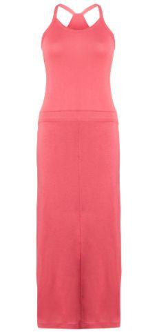 Maxi jurk koraal kleur #Maxi #Jurk #Koraal
