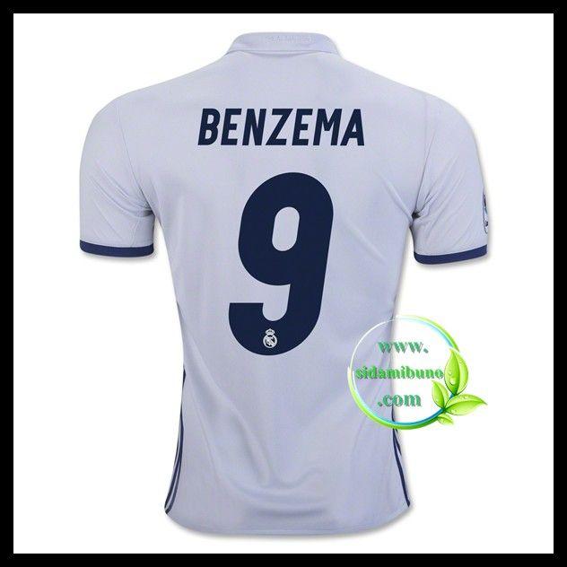 Fotballdrakter FC Real Madrid BENZEMA #9 Hjemmedraktsett 2016-2017