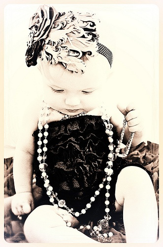 Baby Bling--I just like this picture!