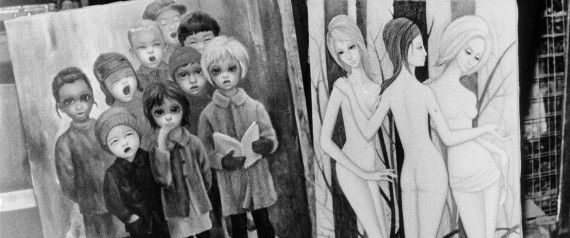Everything You Need To Know About Margaret & Walter Keane, Tim Burton's Latest Obsession