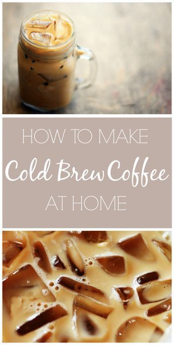 How to Make Iced Coffee At Home - learn a super simple, inexpensive way to make cold brew coffee for 20 cents a cup!