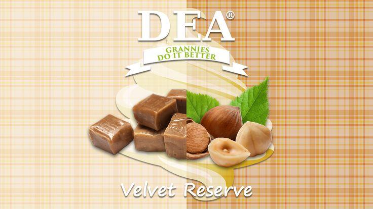 Aroma Velvet Reserve di Granny Rita: cremoso caramello con nocciola e vaniglia  #aromiDEA