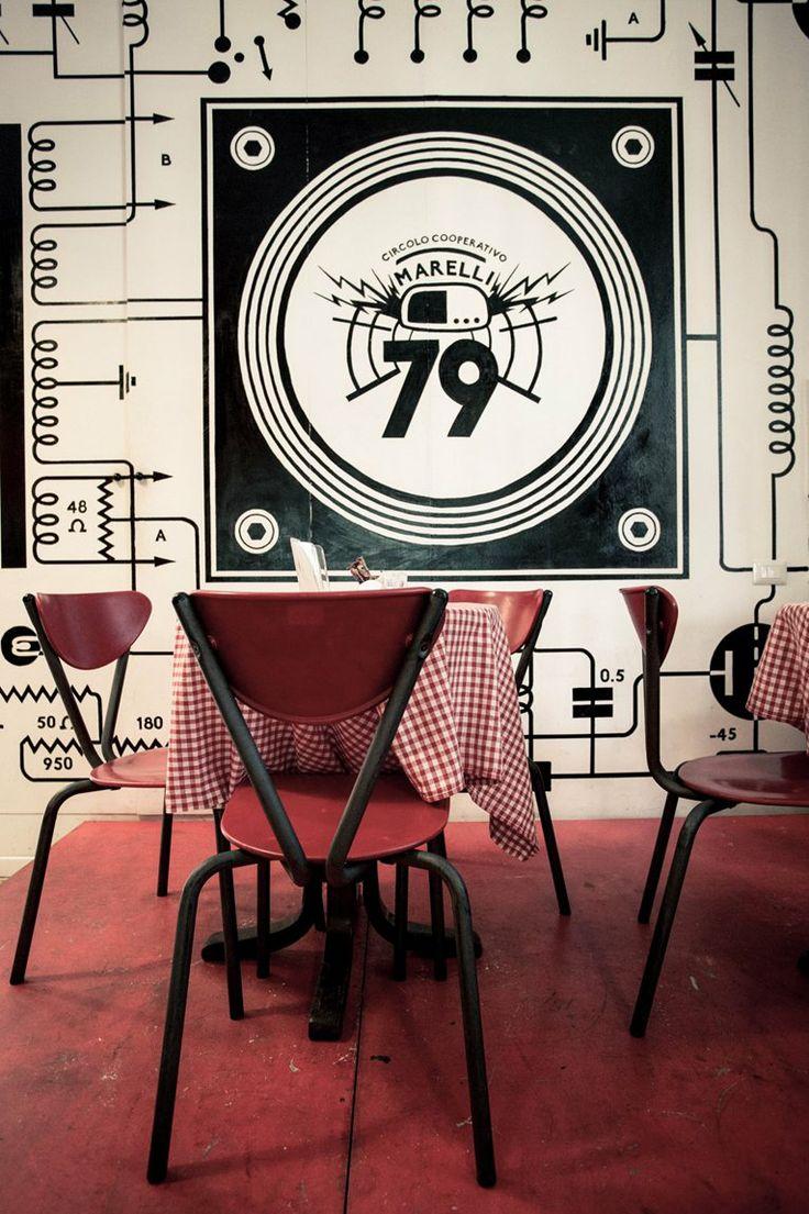 Marelli 79, Sesto San Giovanni, 2013 Interieur, Urlaub