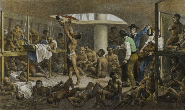 JOHANN MORITZ RUGENDAS-El fondo de la cala-1830