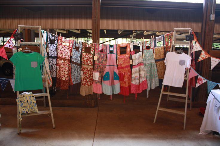 Handmade Aprons at the Market