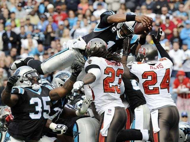 Cam Newton, Panthers roll past Buccaneers, 27-6