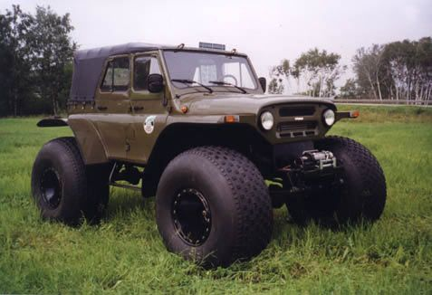 Russian 4x4 Vehicles | did browsing around russian 4x4 sites and found this thing. It is ...