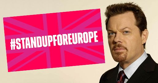 Eddie Izzard: Stand Up For Europe; 31 cities in 31 days ;-)