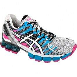 ASICS GEL-Kinsei® 4 Lady White/Snow/Pink - Great for running in colder  weather.