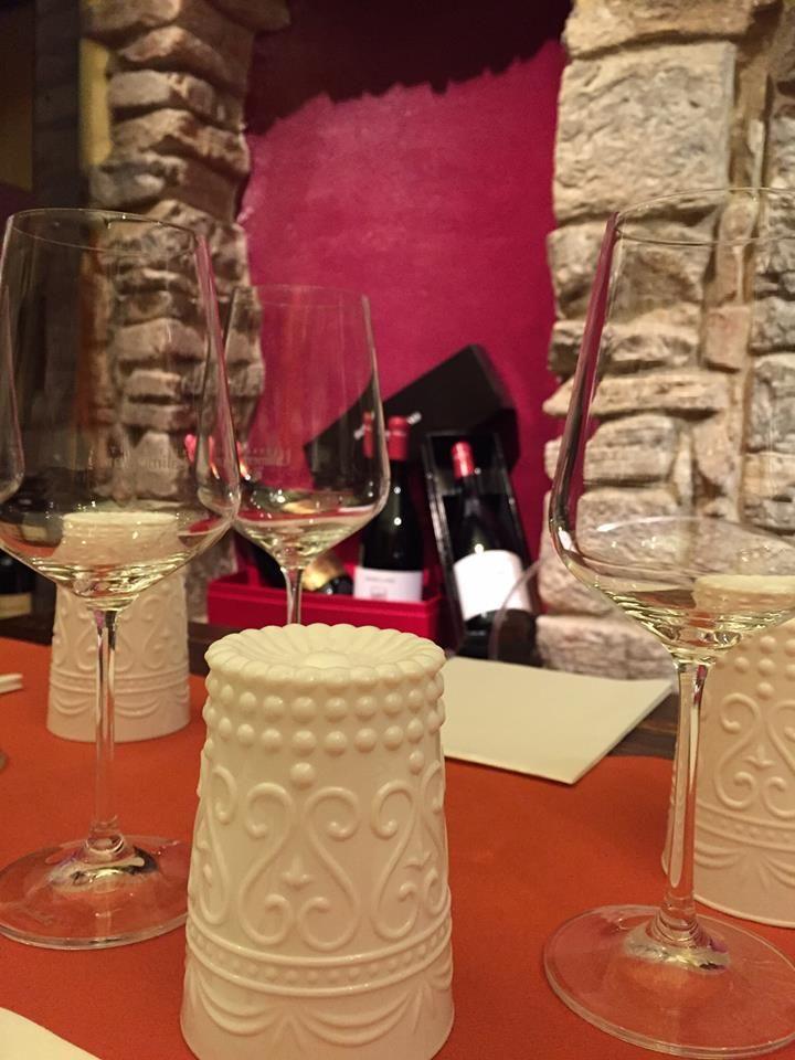 Nuovi bicchieri, nuovo stile al ristorante Lalimentari
