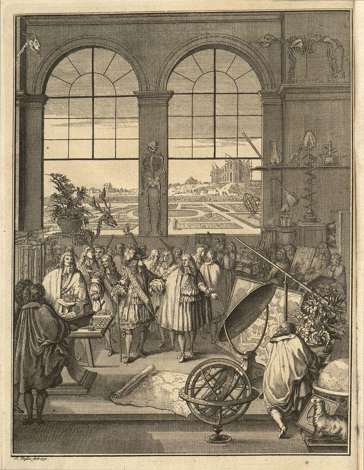 Lámina A.6 ACADÉMIE ROYALE DES SCIENCIES (París). Histoire de L'Academie Royale des  Sciences. Tome I.  A Paris: chez Gabriel Martin, J. B. Coignard, Hippolyte-Louis  Guerin, Charles-Antoine Jombert, 1733. http://absysnetweb.bbtk.ull.es/cgi-bin/abnetopac01?TITN=51650