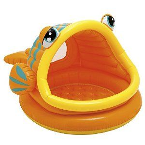 Intex Lazy Fish Baby Paddling Pool or Ball Pond #57109: Amazon.co.uk: Toys & Games