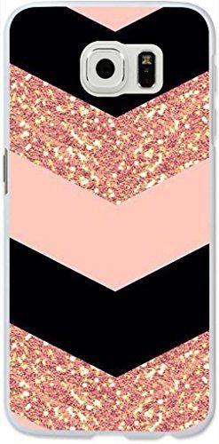 Galaxy S6 Edge Case,Dseason Samsung Galaxy S6 Edge Hard Case **NEW** High Quality Unique Design Protective Shiny pink Dseason