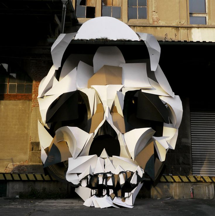 architecture cardboard installations by clemens behr