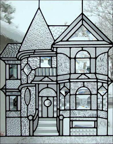 beveled glass custom home disign glass insert