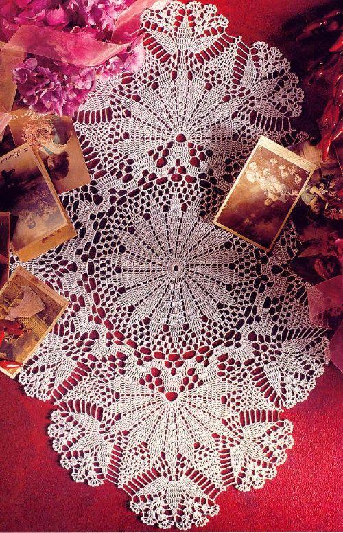 #Crochet Lace Doily