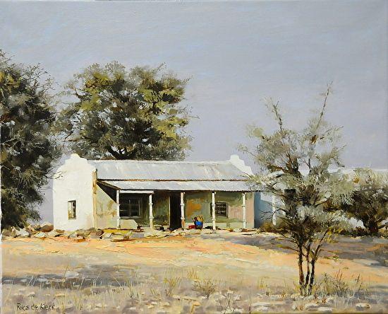 Askam, Kalahari by Rika De Klerk Oil ~ x