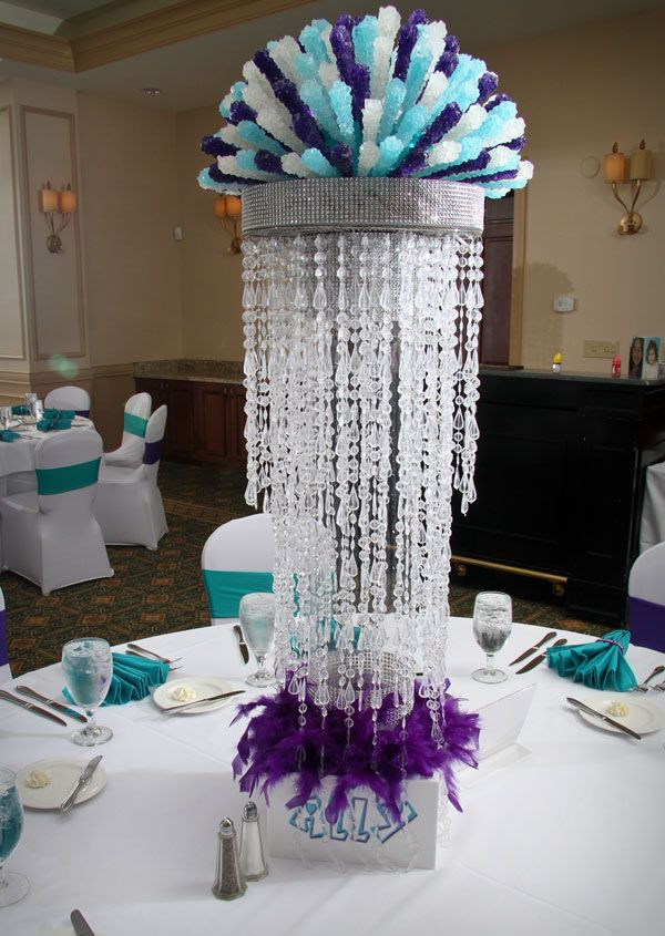1000 ideas about Candy Centerpieces on Pinterest