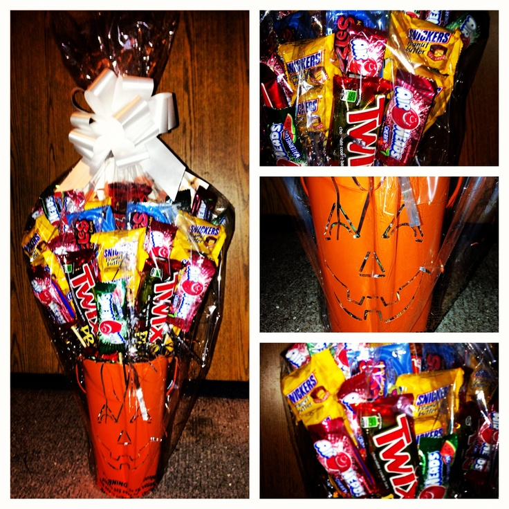 Halloween Trick Or Treat Bouquet! I Wanted To Make My