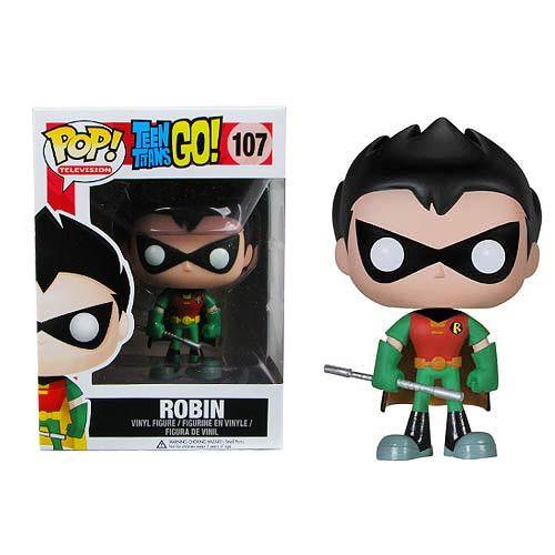Teen Titans Go! Robin Pop! Vinyl Figure | via entertainmentearth.com