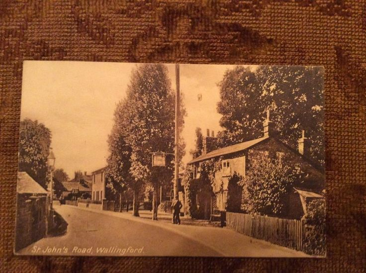 St Johns Road Wallingford Oxfordshire Postcard in Collectables, Postcards, Topographical: British | eBay