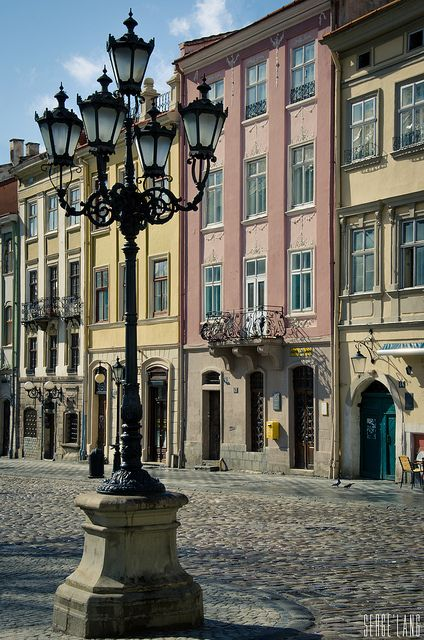 Lviv, Ukraine. Have a picture in the same spot