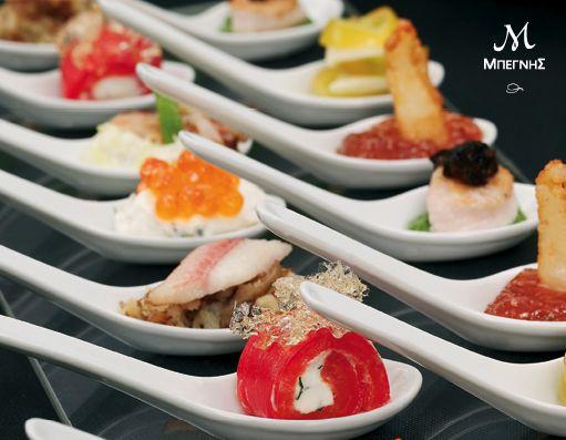 Όμορφο food styling για την εταιρική σας εκδήλωση από τη Μπεγνής!  Γιατί η υψηλή γαστρονομία οφείλει να συνοδεύεται πάντοτε από υψηλή αισθητική και στην παρουσίασή της!