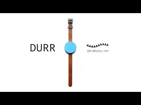 Durr watch - vibrates every 5 minutes