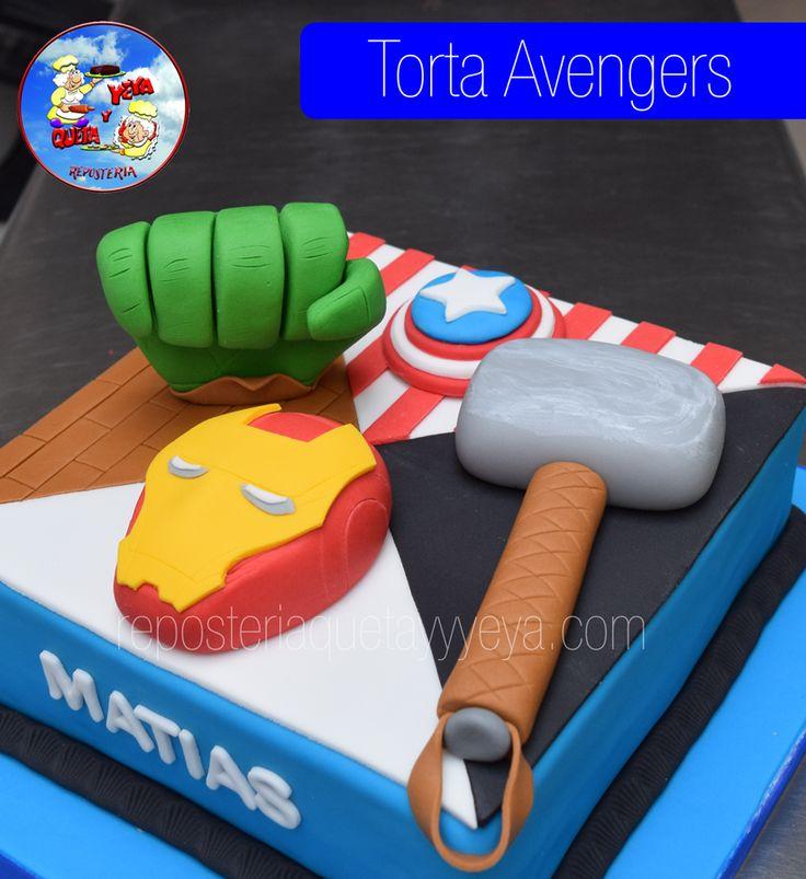 Torta Avengers - Avengers Cake