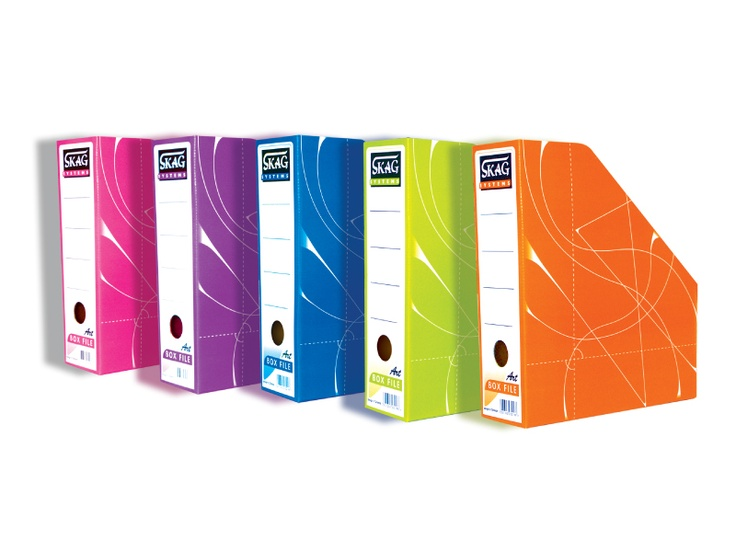 Magasine Boxes in 5 fancy colours