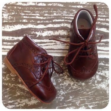 Eli shoes for kids gaucho cognac !