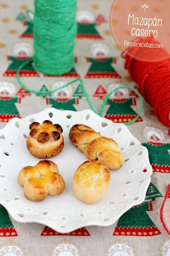 Mazapán casero, receta paso a paso , Hoy os traigo todo un clásico de la Navidad, el mazapán. En mi casa nos gusta preparar muchos dulces navideños, y entre ellos el mazapán y los�...