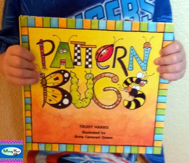 Cool book for teaching patterns with bugs. Plus a great activity pack ($) to complement this book.
