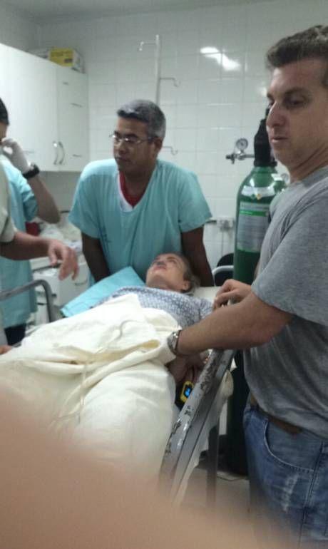 Angélica dá entrada em hospital com suspeita de fratura no quadril após pouso forçado - Jornal O Globo