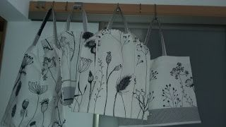 dada : Tašky Ikea kvety